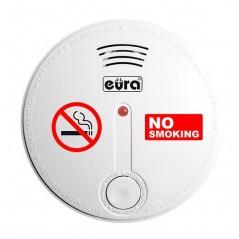 Czujnik dymu papierosowego EURA SD-20B8 ZASILANIE BATERYJNE CZUJNIK FOTO-OPTYCZNY