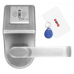 Szyld z kontrolą dostępu Eura ELH-60B9 SILVER z czytnikiem RFID, uniwersalny rozstaw śrub mocujących
