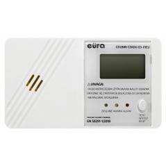 """Czujnik czadu """"Eura"""" CD-01EU - wyświetlacz LCD, bateryjny, 7 lat gwarancji, Made in Poland"""