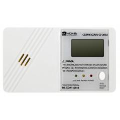 """Czujnik czadu """"El Home"""" CD-20EU - wyświetlacz LCD, bateryjny, 3 lata gwarancji, Made in Poland"""