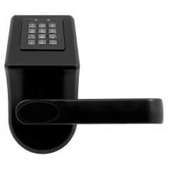 Szyld z kontrolą dostępu Eura ELH-70B9 BLACK z czytnikiem RFID i  szyfratorem, uniwersalny rozstaw śrub