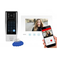 WIDEODOMOFON Eura feniks biały aplikacja WiFi