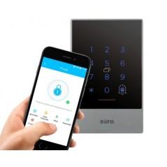 Zamek szyfrowy Eura AC-03C9 - Bluetooth, Mifare, natynkowy, zewnętrzny IP55