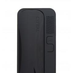Unifon / Słuchawka ''CYFRAL'' SMART CZARNY do domofonów analogowych