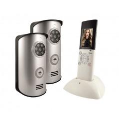 Wideodomofon bezprzewodowy Eura WVP-02A6 2 kasety