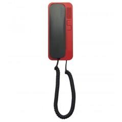 Unifon / Słuchawka ''CYFRAL'' SMART 5P GRAFITOWO-CZERWONY do domofonów analogowych