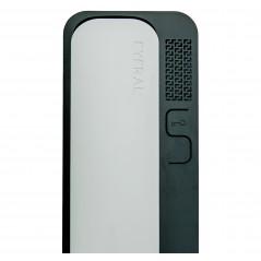Unifon / Słuchawka ''CYFRAL'' SMART 5P BIAŁO-CZARNY do domofonów analogowych