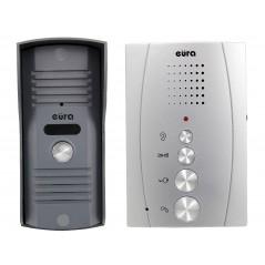 """Domofon Eura"""" ADP-13A3 INVITO Srebrny, głośnomówiący, bezsłuchawkowy"""
