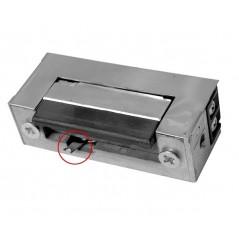 RYGIEL ELEKTROMAGNETYCZNY (ELEKTROZACZEP) RE-31G2 symetryczny z wyłącznikiem 12V AC/DC
