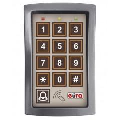 Zamek szyfrowy Eura AC-13A1 - 3 wyjścia, karta zbliżeniowa, natynk, Wiegand