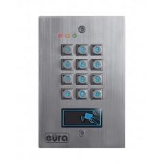 Zamek szyfrowy Eura AC-16A1 - 3 wyjścia, karta zbliżeniowa, podtynk, Wiegand
