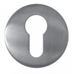 Rozeta drzwiowa Eura ELW-60B9 silver - do szyldów z kontrolą dostępu