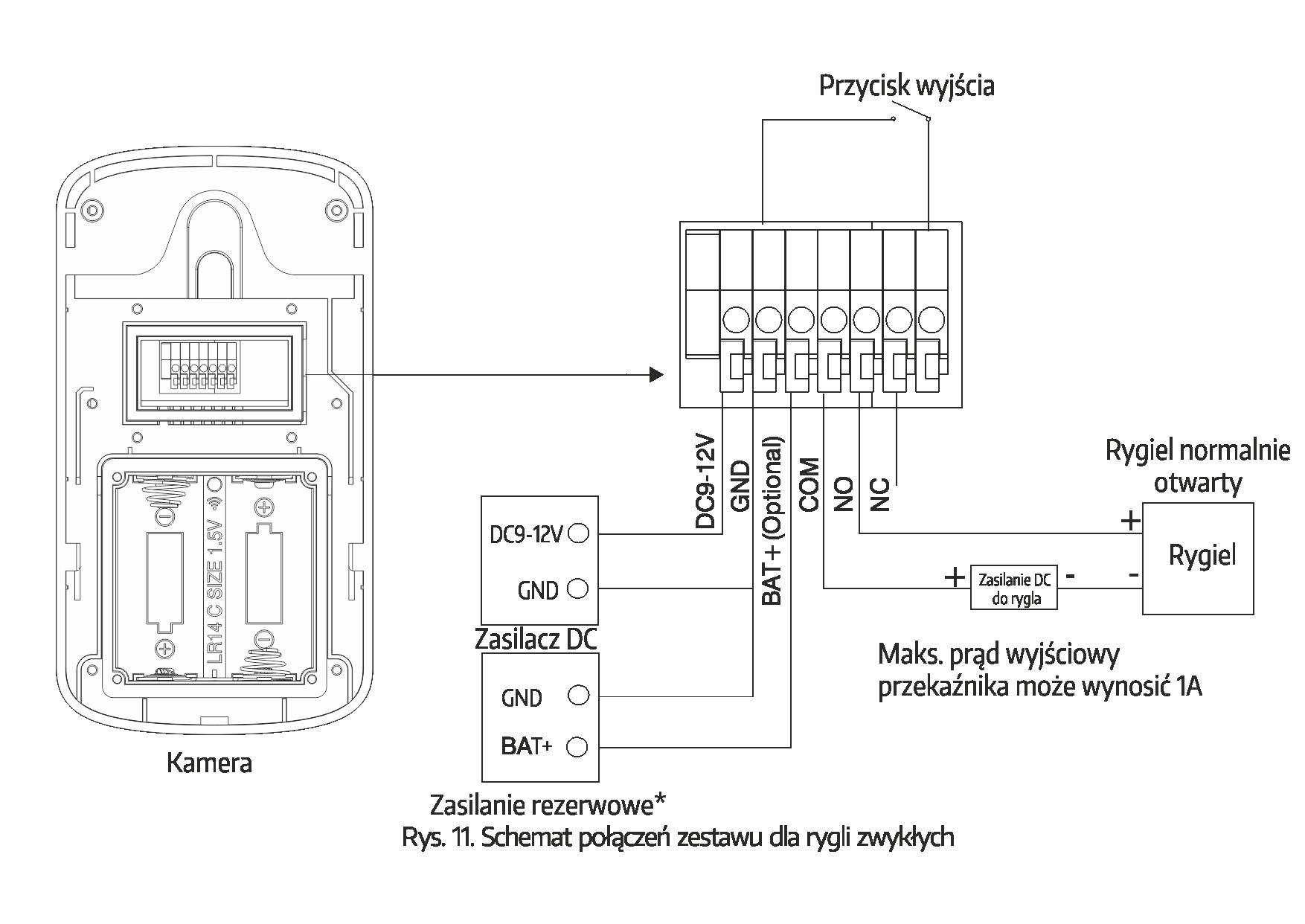 schemat_wideodomofon bezprzewodowy