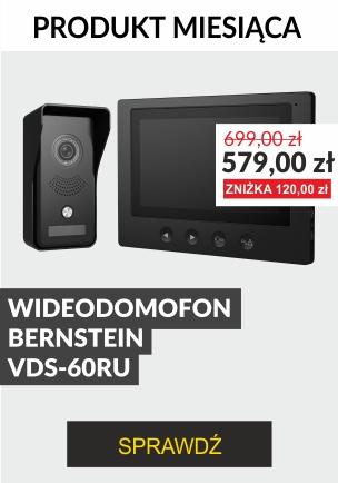 PRODUKT MIESIĄCA WIDEODOMOFON BERNSTEIN VDS-60RU